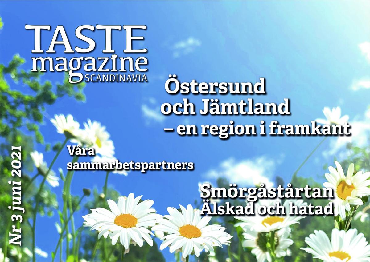 TASTE Magazine Scandinavia - 2021 nummer 3