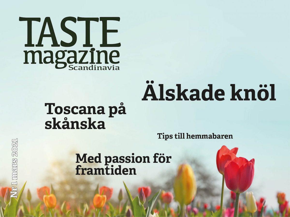 TASTE Magazine Scandinavia - 2021 nummer 1